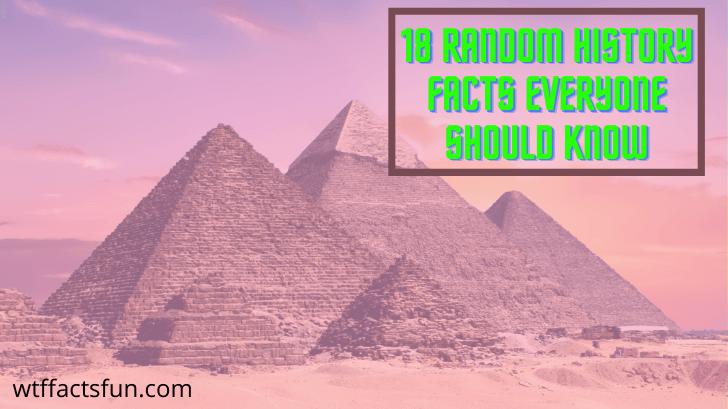 Random History Facts