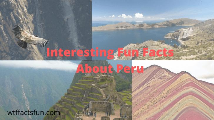 Fun Facts About Peru