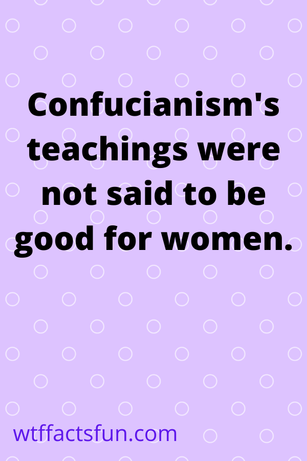 Fun Facts About the Confucianism religion