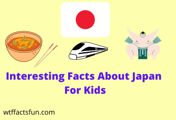 Interesting facts about japan for kids