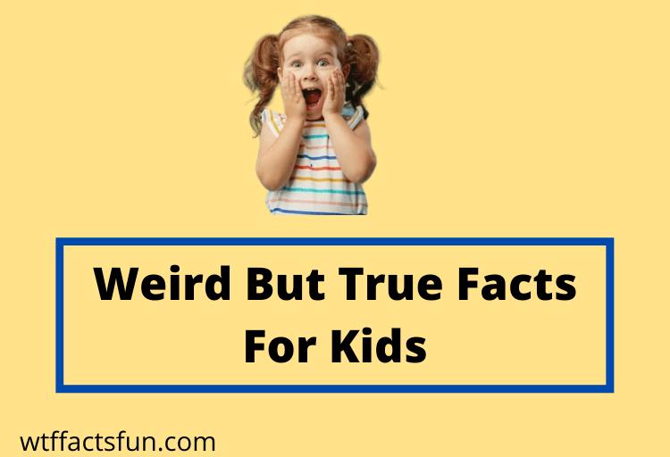 Weird But True Facts For Kids
